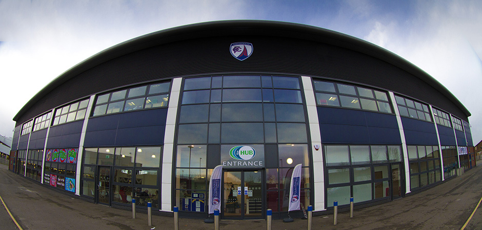 the HUB, home of Chesterfield FC Community Trust