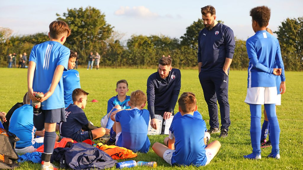 Grassroots club chairman values academy link-up