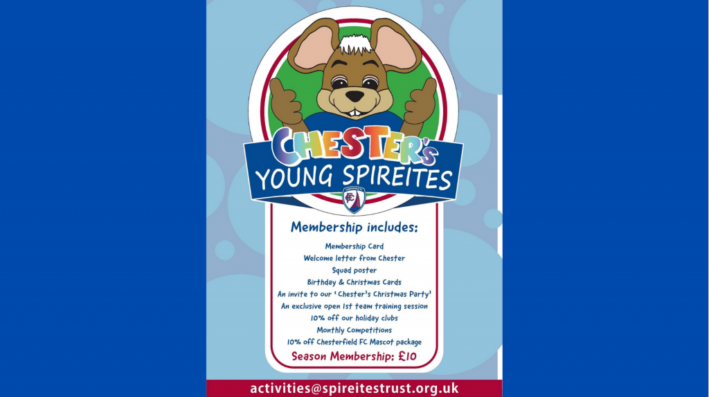Chester's Young Spireites