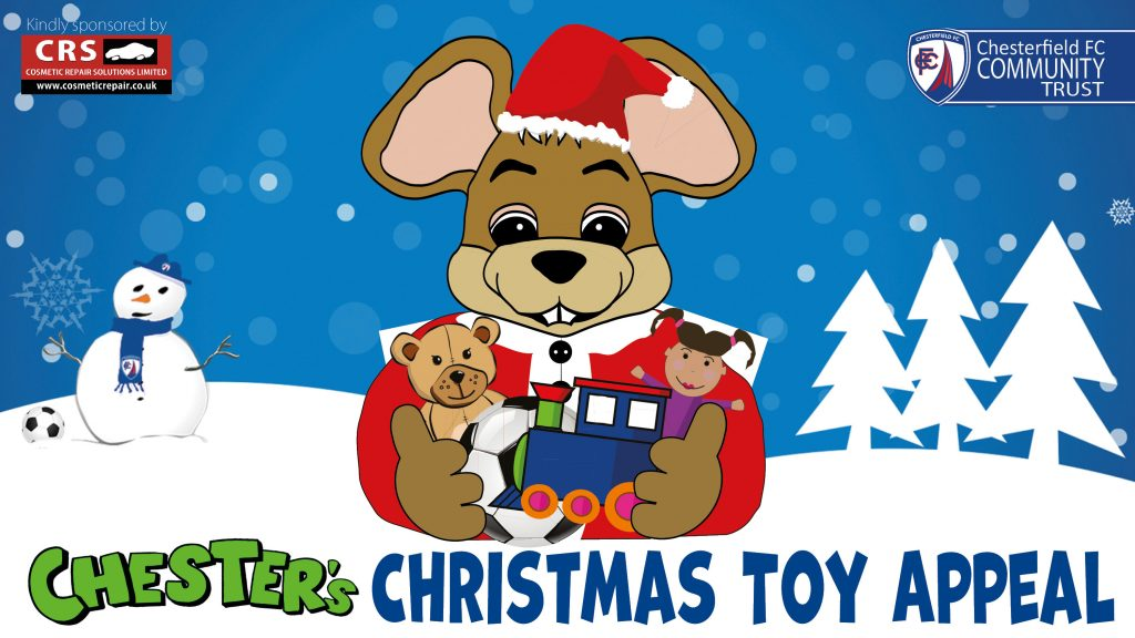 Reminder re Chester's Christmas Toy Appeal